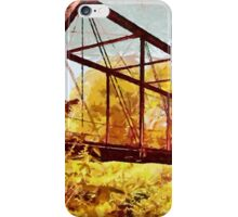 Mill Creek Bridge, Mill Creek, Alton, Crawford County, Indiana - all products iPhone Case/Skin