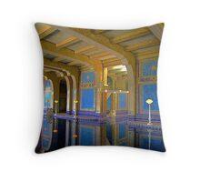 Hearst Castle's indoor pool  Throw Pillow
