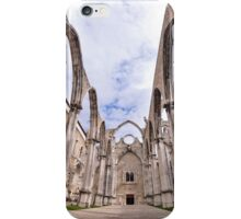 Carmo Convent iPhone Case/Skin