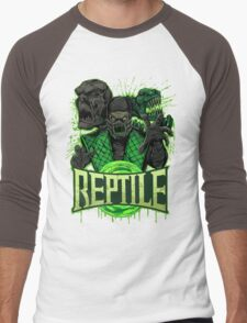REPTILE Men's Baseball ¾ T-Shirt