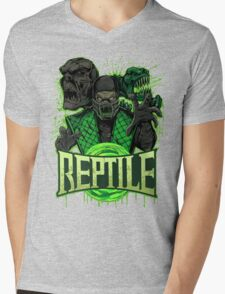 REPTILE Mens V-Neck T-Shirt