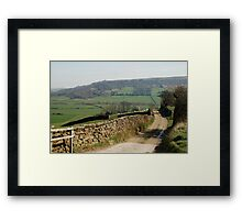 A View near Danby Castle Framed Print