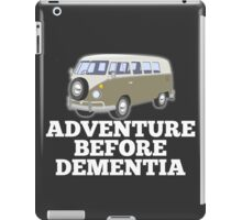 Bus Camper Van Adventure Before Dementia iPad Case/Skin