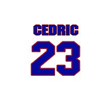 National football player Cedric Griffin jersey 23 Photographic Print