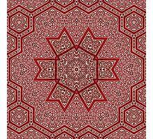 red khayameya Photographic Print
