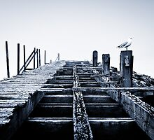 Old Pier, Leith by David Queenan