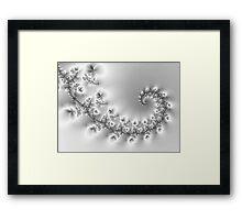 Crystal Floral Vine... Framed Print