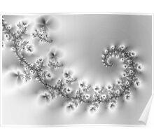 Crystal Floral Vine... Poster