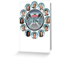 BBC Agents Of Science Greeting Card