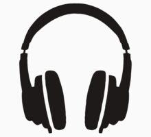 DJ' s Headphones One Piece - Short Sleeve