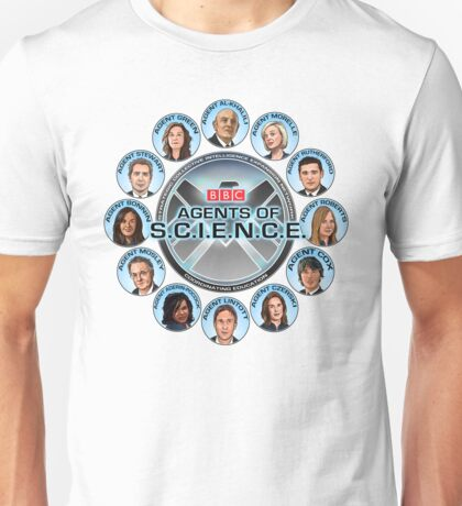 BBC Agents Of Science Unisex T-Shirt