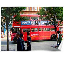 Oxford Street Bus Poster
