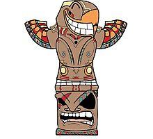 Totem #Retro☯ Photographic Print