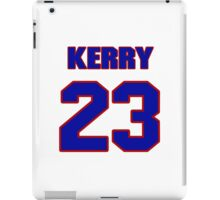 National football player Kerry Parker jersey 23 iPad Case/Skin