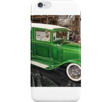 Debby's Speed Shop Model A iPhone Case/Skin
