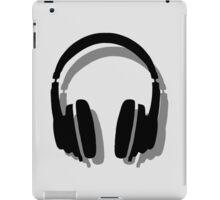 Headphones Shadow iPad Case/Skin