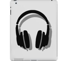 Headphones Shadow iPad Case/Skin