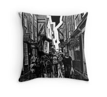 York Shambles Throw Pillow