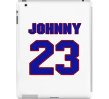 National football player Johnny Roland jersey 23 iPad Case/Skin