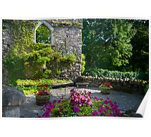 A colourful nook, Inistoge, County Kilkenny, Ireland Poster