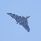 avro vulcan in flight by Martin  Egner