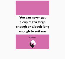 On Books - C.S. Lewis Unisex T-Shirt