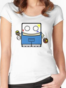 Paint Yourself Women's Fitted Scoop T-Shirt