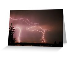 NATURES SKY SHOW  Greeting Card