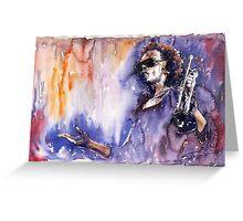 Jazz Miles Davis 14 Greeting Card