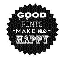 An Ode to Typefaces by smashton