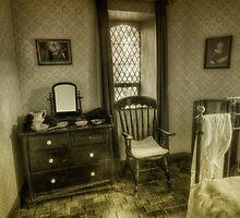 Elegant Bedroom by Ian Mitchell