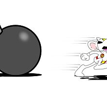 Danger Mouse - Escaping from a Bomb! by cubicspin