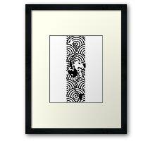 Koi fish ☯ Framed Print