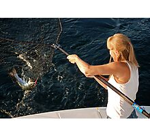 Catching Dinner Photographic Print