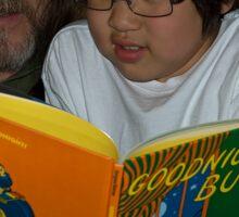 Reading is Fundamental/Goodnight Bush Sticker
