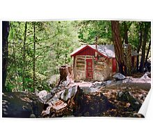 Ice House Canyon Cabin Poster
