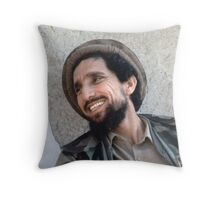 AHMAD SHAH MASSOUD Throw Pillow