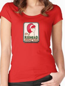 Redhead Piano Bar Women's Fitted Scoop T-Shirt
