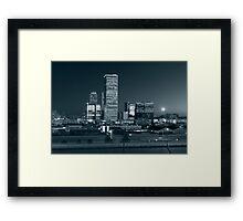 Tulsa Skyline (Alan Copson © 2007) Framed Print