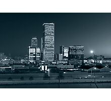 Tulsa Skyline (Alan Copson © 2007) Photographic Print