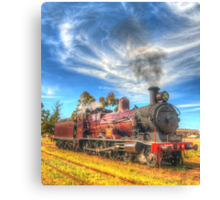 A Blast From The Past Canvas Print