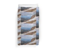 Reaching The Snow Line Duvet Cover