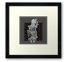 hieroglyphic 3 Framed Print