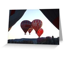 Hot Air Ballooning Greeting Card