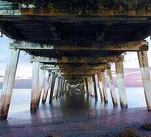 Grange Jetty: One Autumn night  by BBCsImagery
