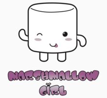 Marshmallow Girl Baby Tee