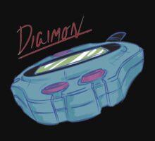 Digimon: Digivice, Retro Piece Kids Clothes