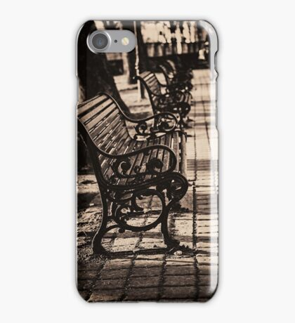 A place to rest in Tallinn iPhone Case/Skin