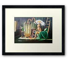 Capture of an empty soul Framed Print