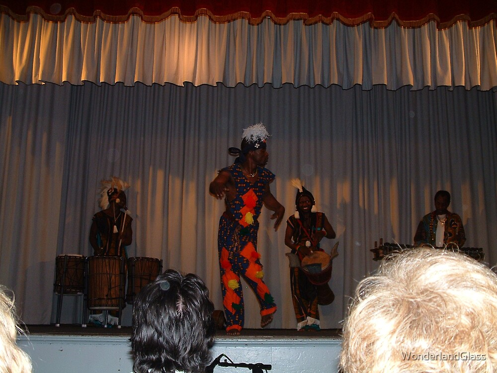 East African rhythms... Ohio Orbs by WonderlandGlass